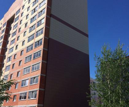 Вентилируемый фасад в ЖК Череповец