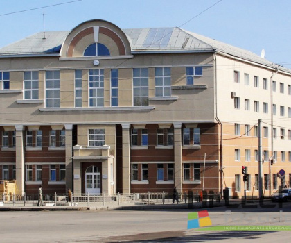 Административное здание отделения Северной Железной Дороги г. Вологда.